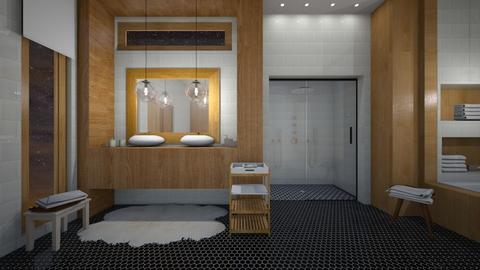 mid century modern - Bathroom - by Matilda de Dappere