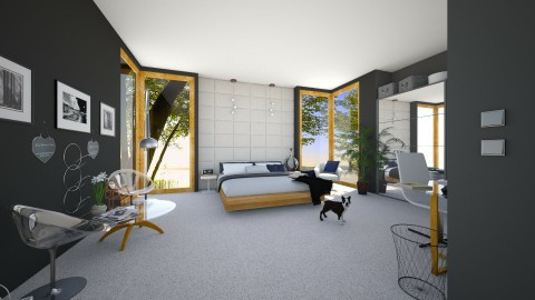 Design 6 _ Bedroom - Modern - Bedroom - by ExpressYourself
