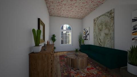 Eclectic Living Room - Eclectic - Living room - by lexilav