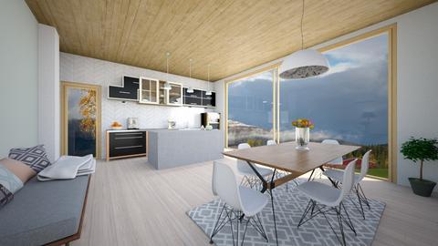 Scandi Kitchen ModDezign - Kitchen - by Sanja S
