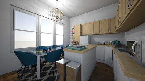 New Kitchen w bthrm 2 - Kitchen - by Kmstyles84