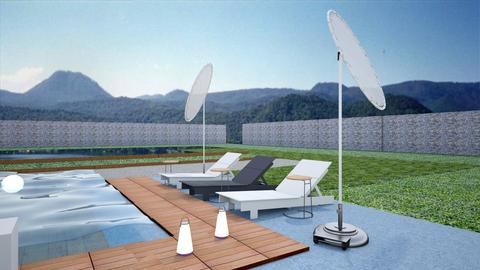 Nadia Ortiz  Valle 01 - Garden - by Jlo Design