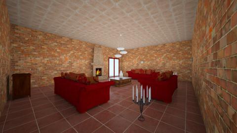 living room - by Marina Abiaad