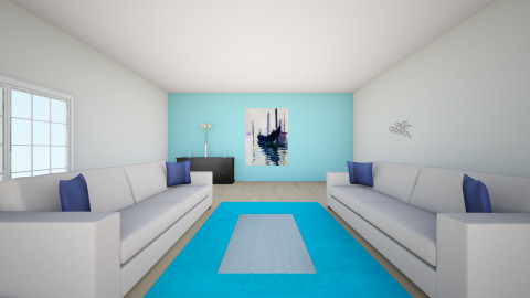 beach - Living room - by design_123