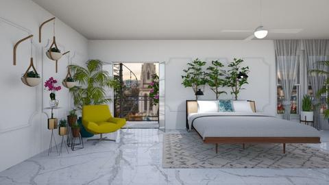 Urban Jungle Bedroom - Modern - Bedroom - by jjp513