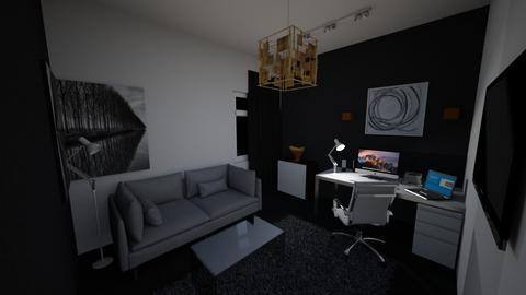 My Setup Room 2 NIGHT - Modern - by MhmdAbdoh
