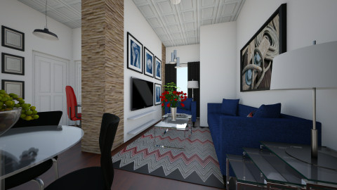 For amone01 I - Eclectic - Living room - by Theadora