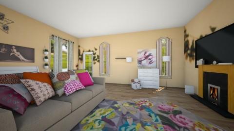 popular teen room - by Mya9