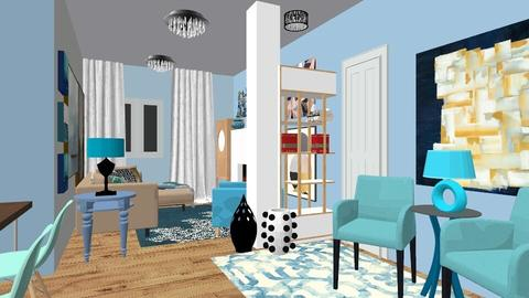 Via cassiani 2 - Modern - Living room - by PROGETIM