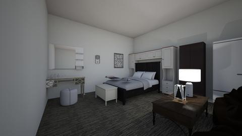 Modern Bedroom - Bedroom - by thephilosophicaljew