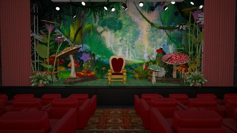 Design 422 Alice in Wonderland Stage - by Daisy320