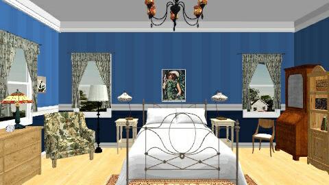 1940s Bedroom - Vintage - Bedroom - by yourjieee