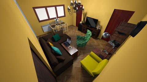 stan 6 - Retro - Living room - by jokojoko