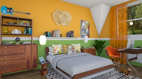 M_Teen room_N - Bedroom - by milyca8