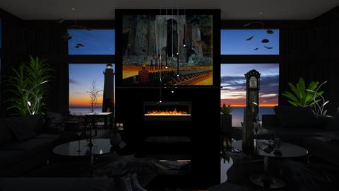 Memento Mori - Living room - by Jade Autumn