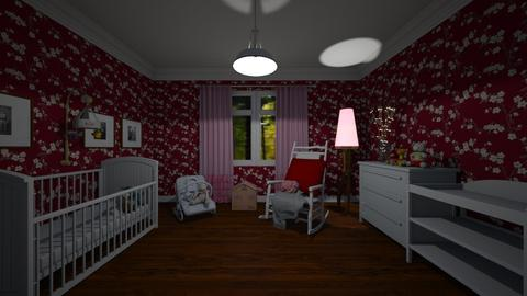 290 Baby girl room - Bedroom - by Agata_ody