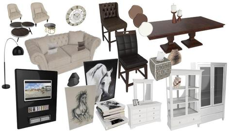 moodboard living room - by gila