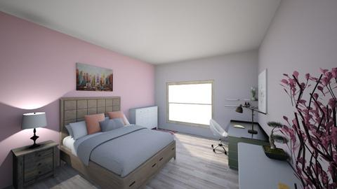 Intro to FCS design  - Feminine - Bedroom - by jules53