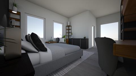 mod2 - Masculine - Bedroom - by brentblues