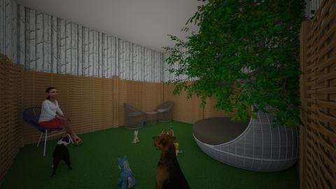 dog - Garden - by kphillips26