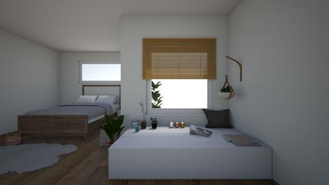 cosy bedroom - Bedroom - by Marion_