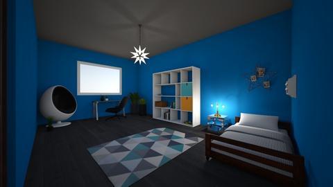 My room - Bedroom - by AppleSpongeCake