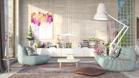 playful modern - Living room - by bnu