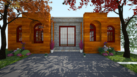 front entry - by Ty Levine