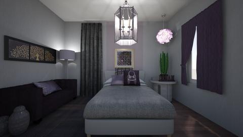 Small Bedroom 25 - Modern - Bedroom - by XiraFizade