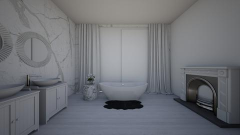 Marble  - Glamour - Bathroom - by laura5312