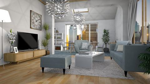 eclectic - Living room - by anjaam