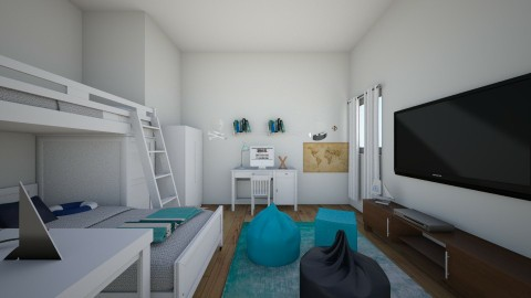 nautical kids - Kids room - by ayeeshadandan