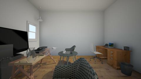 cosy  - Rustic - Office - by Broken in pieces