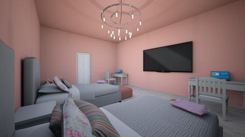 Teen sister room - Bedroom - by Jayox0808080