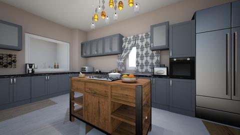 Not so traditional - Kitchen - by elizabethwatt16