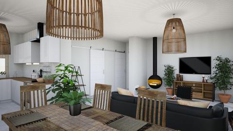 3 - Minimal - Living room - by Lenamider