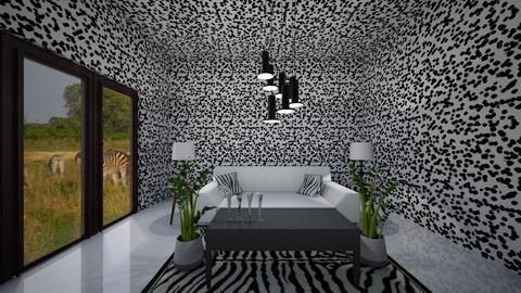 zebra - Living room - by junicorn19