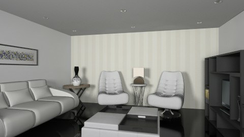 Leather - Living room - by maribeiro