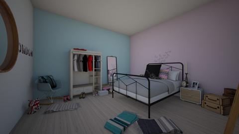 Chambre pastel eleonore - Bedroom - by Isabellebinot