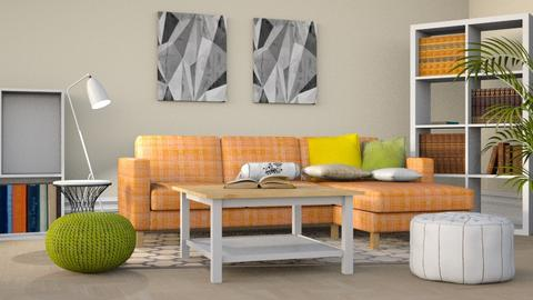 Cozy Colors - Modern - Living room - by stephendesign