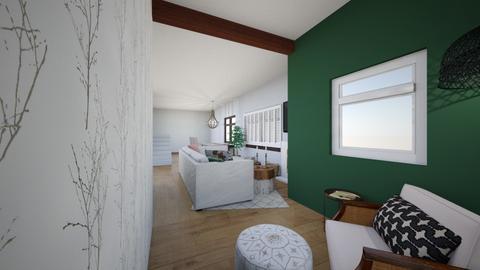 Rachel Living  - Living room - by Marcellejenay