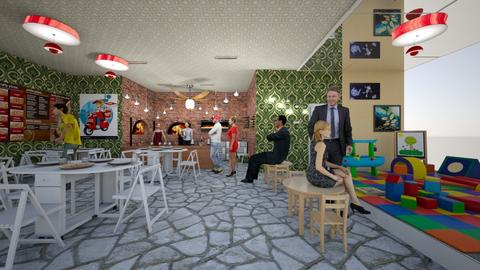 Children area pizz - Eclectic - Office - by Orionaute