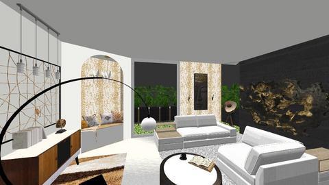 Room 11 - Living room - by Daria Marienko