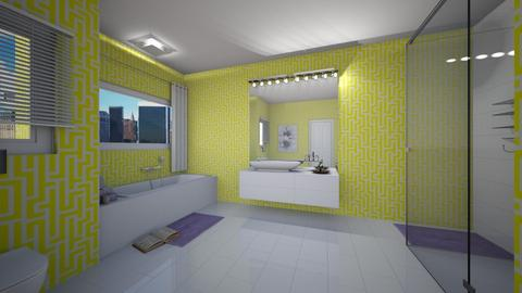 Yellow Bathroom - Minimal - Bathroom - by pfeilswdm
