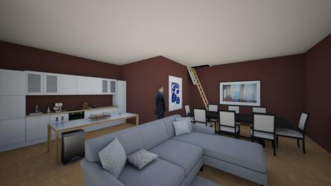 small home pt 1 - Living room - by desgirl12