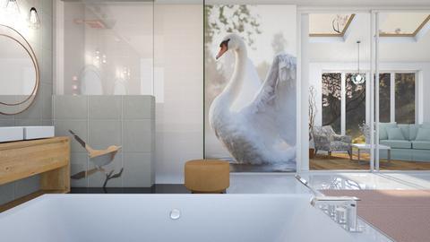 Bird Bath - Bathroom - by KimAlys