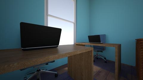 ruangan kantor final - Office - by andromedha