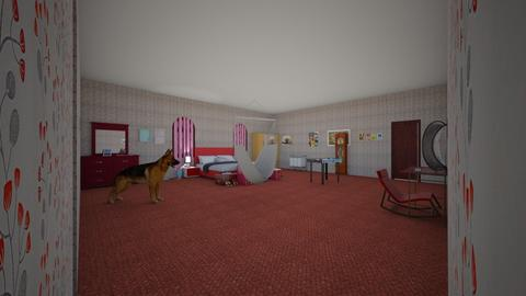 Master Bedroom - Glamour - Bedroom - by cupcake oncer
