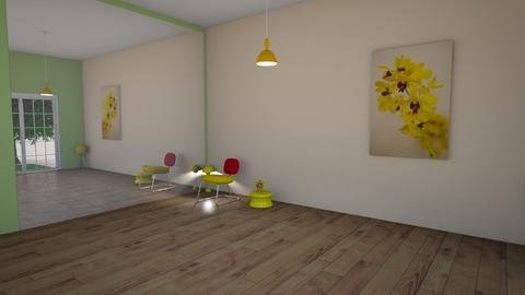 minimalist - Living room - by TiibTom
