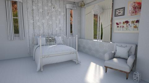 shabby chic fluff - Bedroom - by Moonpearl